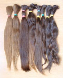 Haare fur die Haarverlängerung