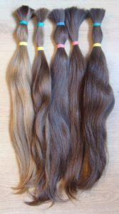 Europäische Haare