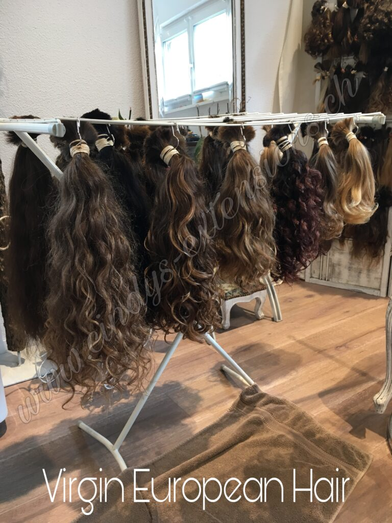 Europäische Haare Schnitthaare